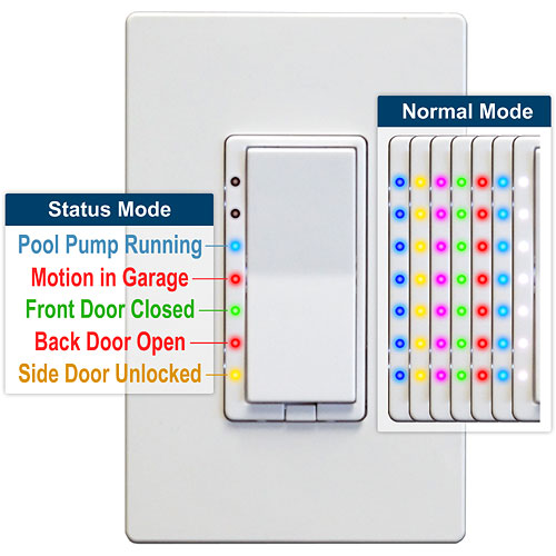 HS-WD200 Dimmer Color Modes